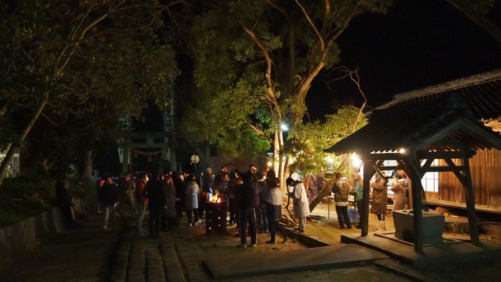 佐久島年越し祭り